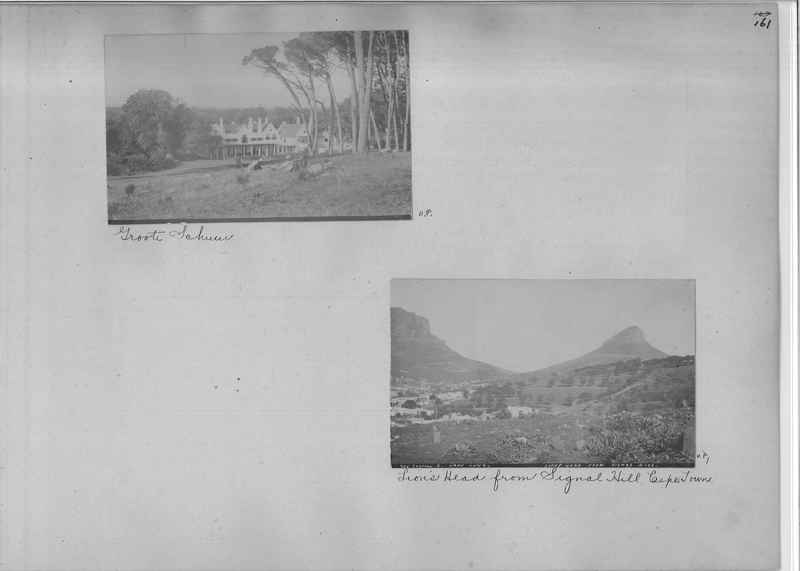 Mission Photograph Album - Africa - Madeira O.P. #1 page 0161