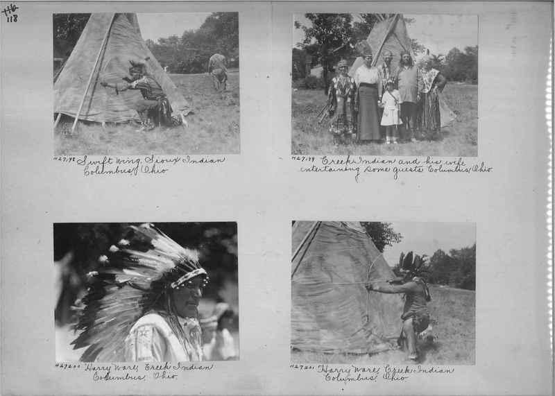 Mission Photograph Album - Indians #2 page_0118
