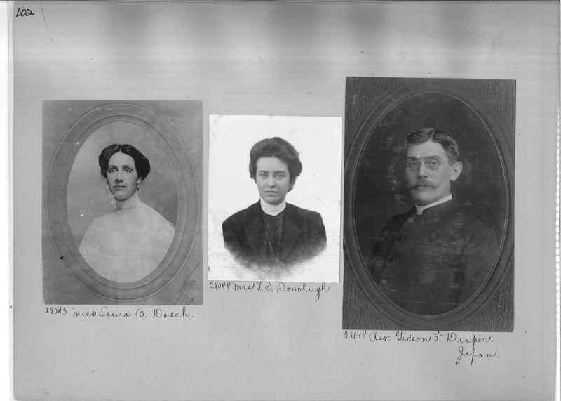 Mission Photograph Album - Portraits #1 page 0102