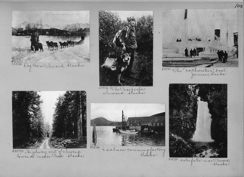 Mission Photograph Album - Alaska #1 page 0103