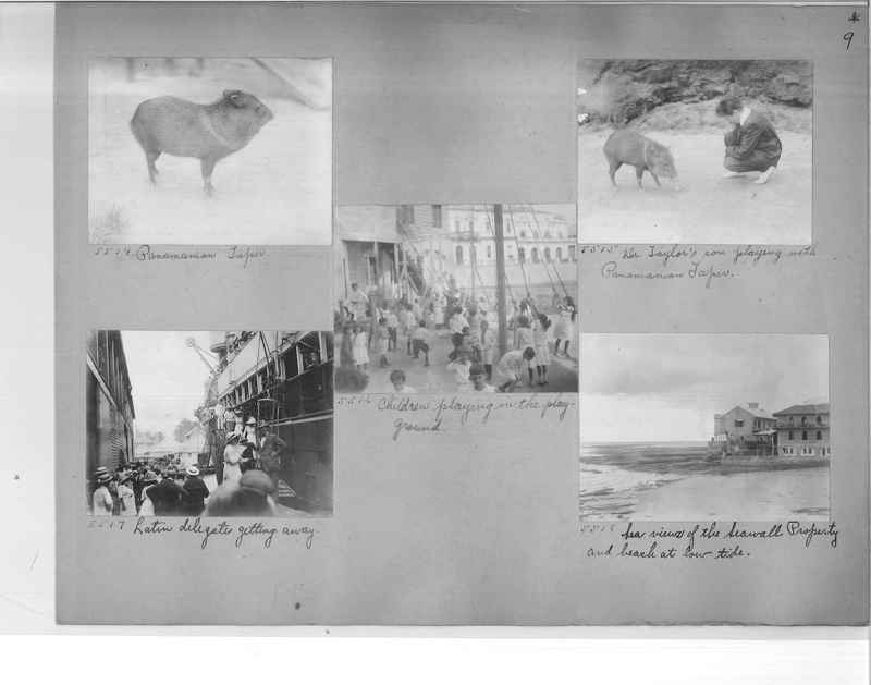 Mission Photograph Album - Panama #1 page  0009