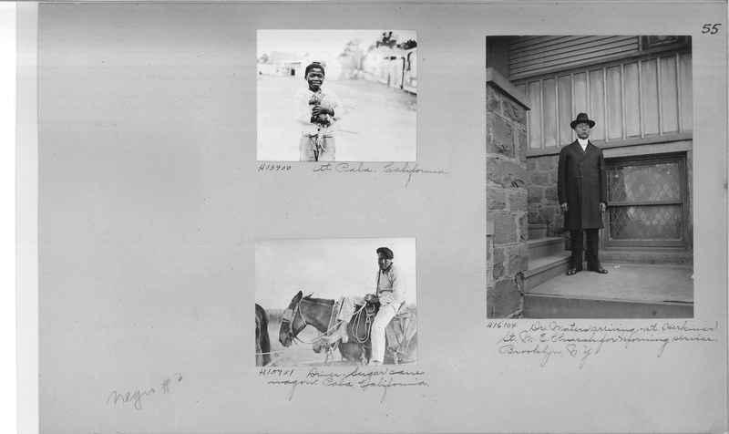 Mission Photograph Album - Negro #2 page 0055