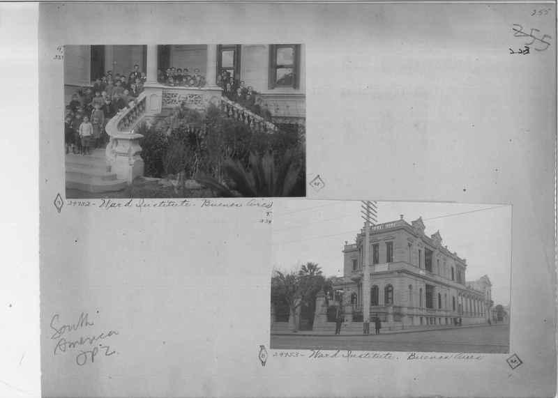 Mission Photograph Album - South America O.P. #2 page 0223