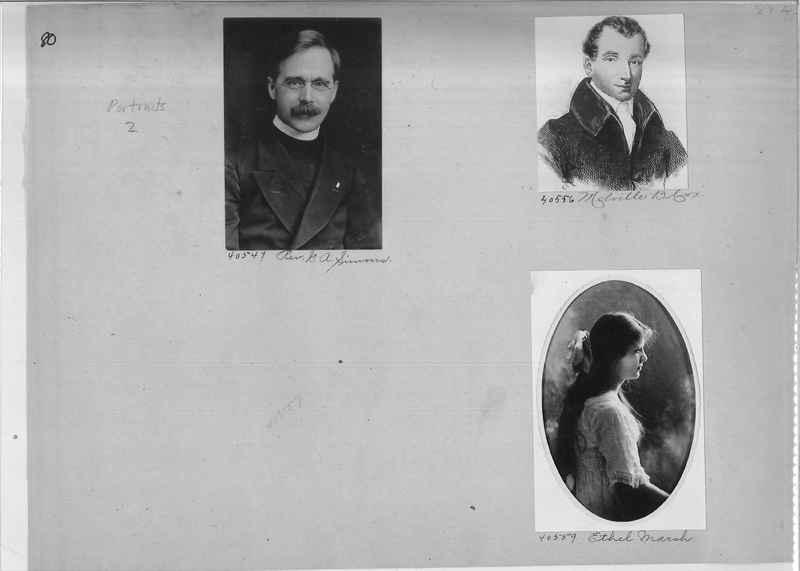 Mission Photograph Album - Portraits #2 page 0080