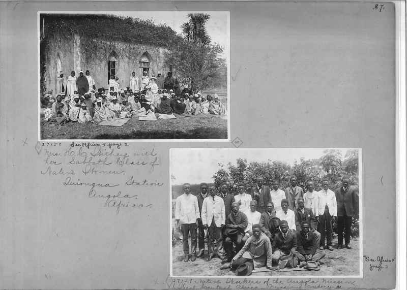 Mission Photograph Album - Africa - Madeira O.P. #1 page 0087