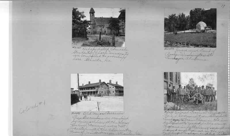 Mission Photograph Album - Negro #1 page 0017