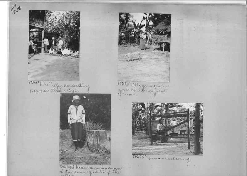 Mission Photograph Album - Burma #1 page 0218