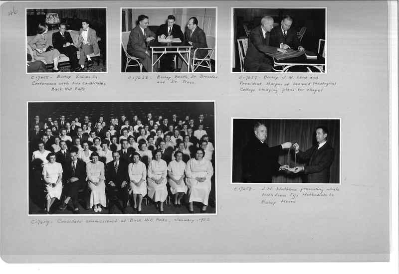 Mission Photograph Album - Portraits #13 Page 0046