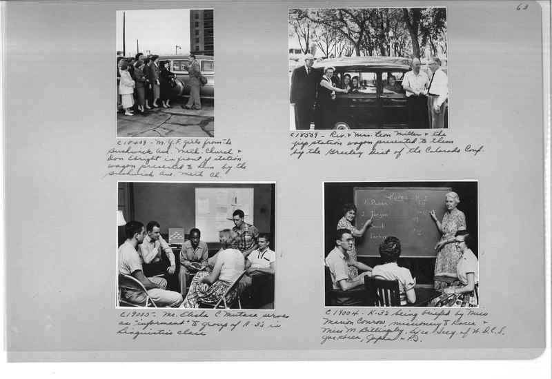 Mission Photograph Album - Portraits #13 Page 0063