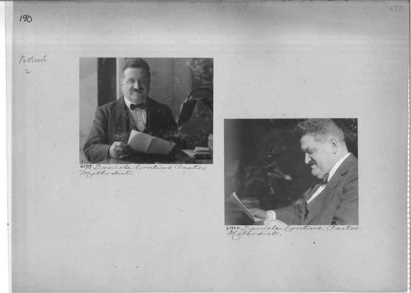 Mission Photograph Album - Portraits #2 page 0190