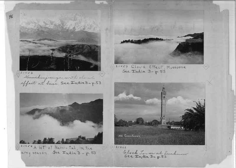 Mission Photograph Album - India - O.P. #01 Page 0096