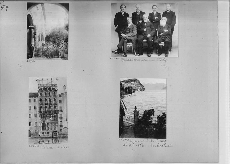 Mission Photograph Album - Europe #01 Page 0054