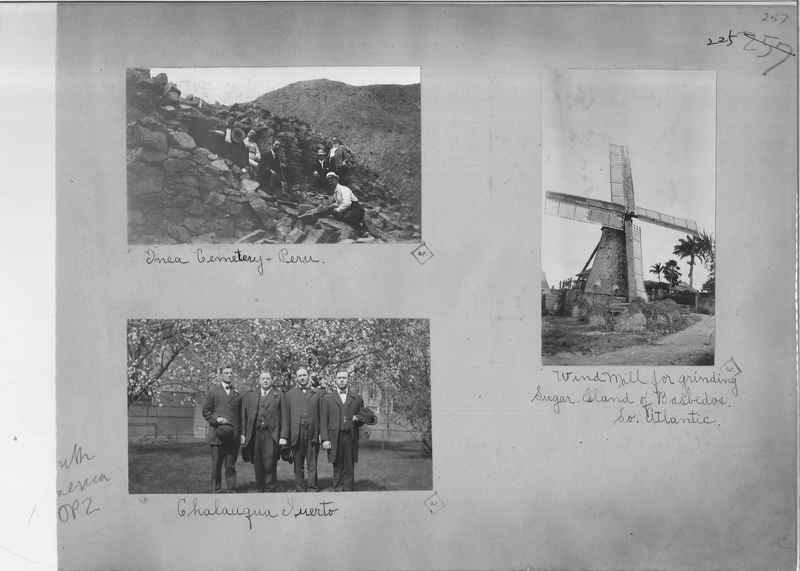 Mission Photograph Album - South America O.P. #2 page 0225
