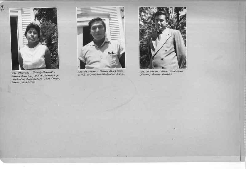 Mission Photograph Albums - Indians #3 Page_0074