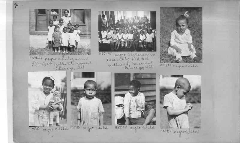 Mission Photograph Album - Negro #6 page 0002
