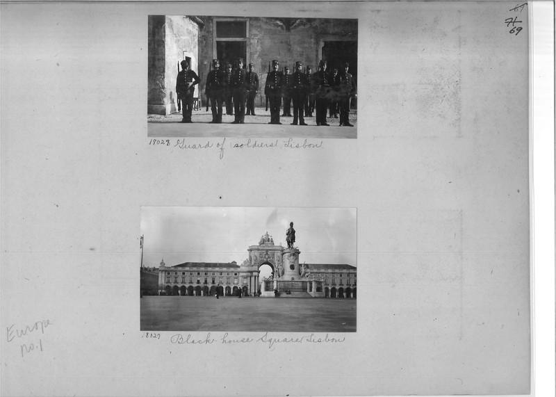 Mission Photograph Album - Europe #01 Page 0069