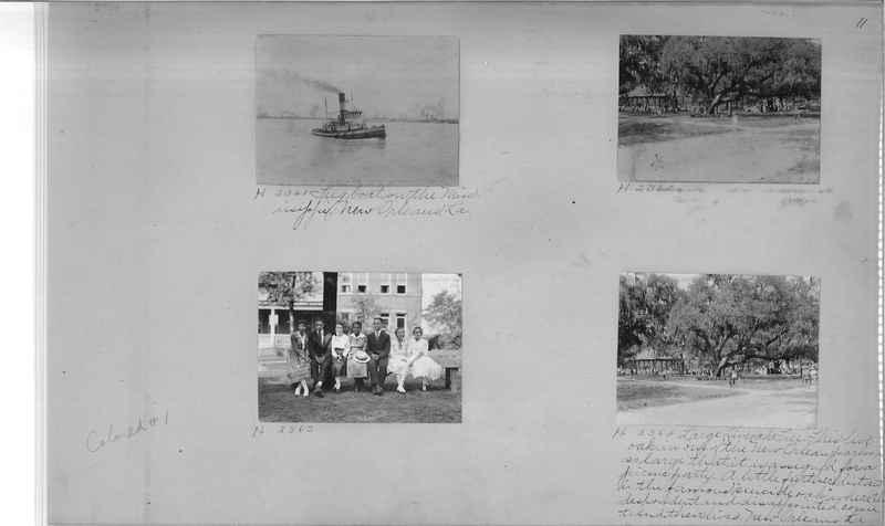 Mission Photograph Album - Negro #1 page 0011