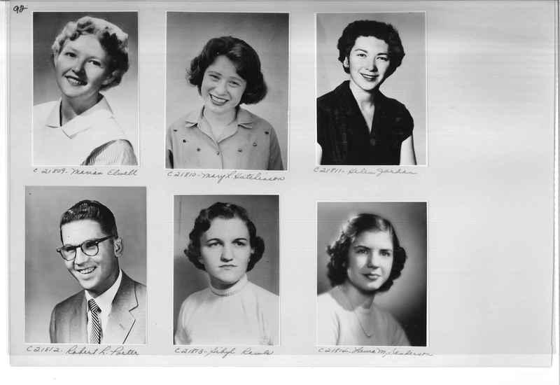 Mission Photograph Album - Portraits #10 Page 0092