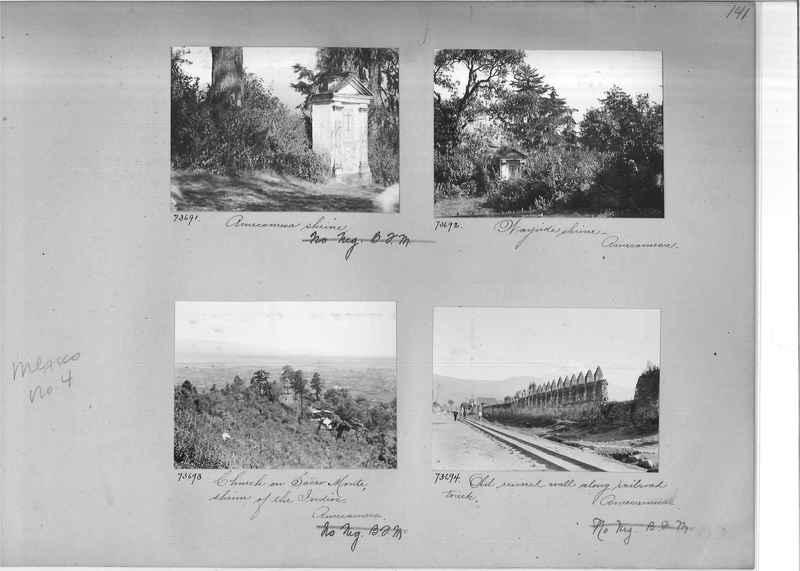 Mission Photograph Album - Mexico #04 page 0141