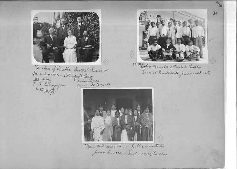 Mission Photograph Album - Mexico - O.P. #01 Page 0031