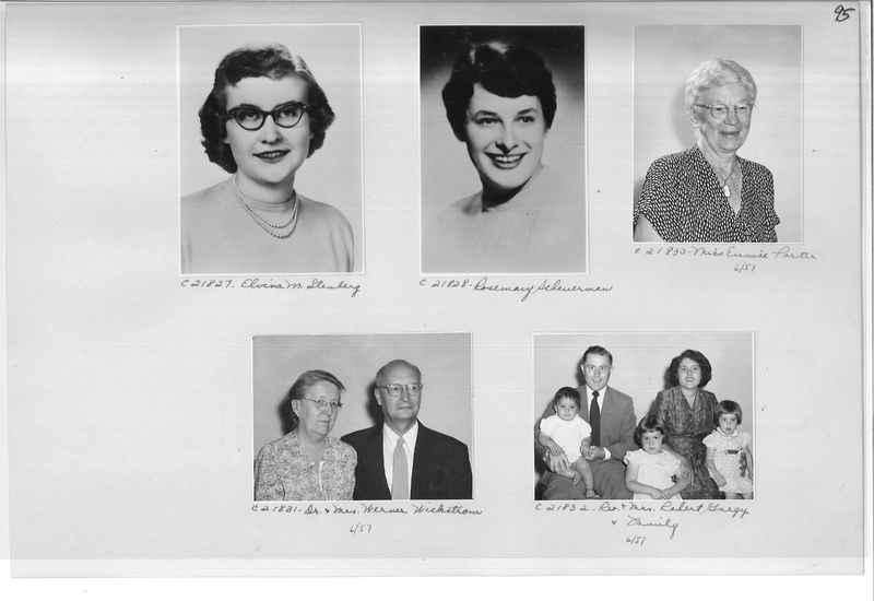 Mission Photograph Album - Portraits #10 Page 0095
