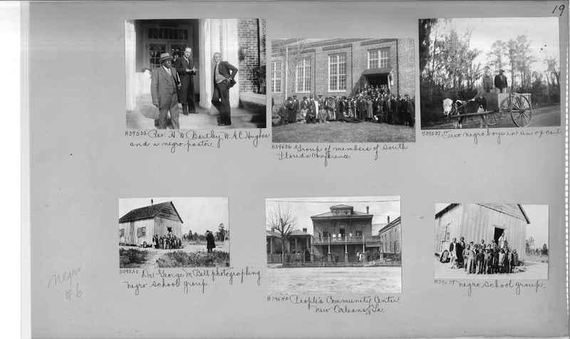 Mission Photograph Album - Negro #6 page 0019