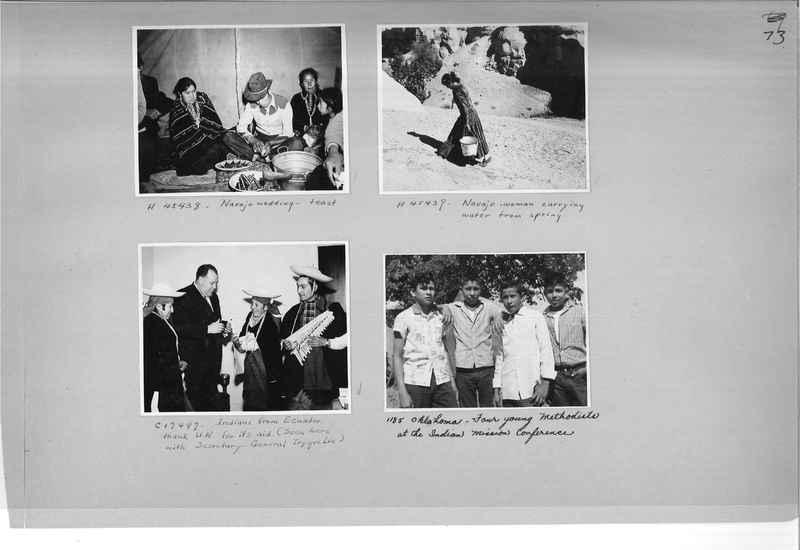 Mission Photograph Albums - Indians #3 Page_0073