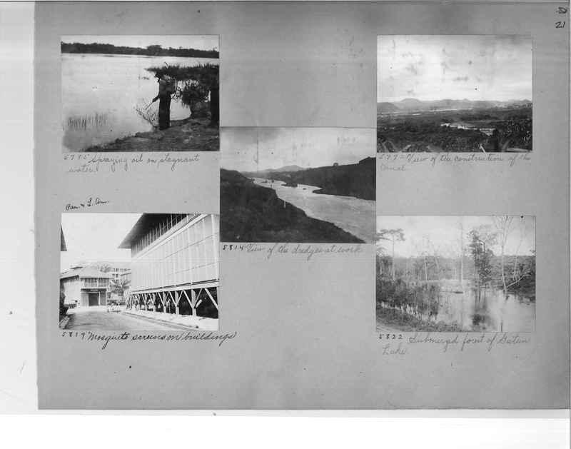Mission Photograph Album - Panama #1 page  0021