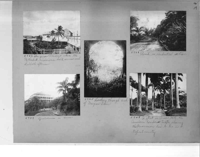 Mission Photograph Album - Panama #1 page  0019