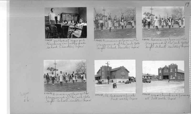 Mission Photograph Album - Negro #6 page 0017