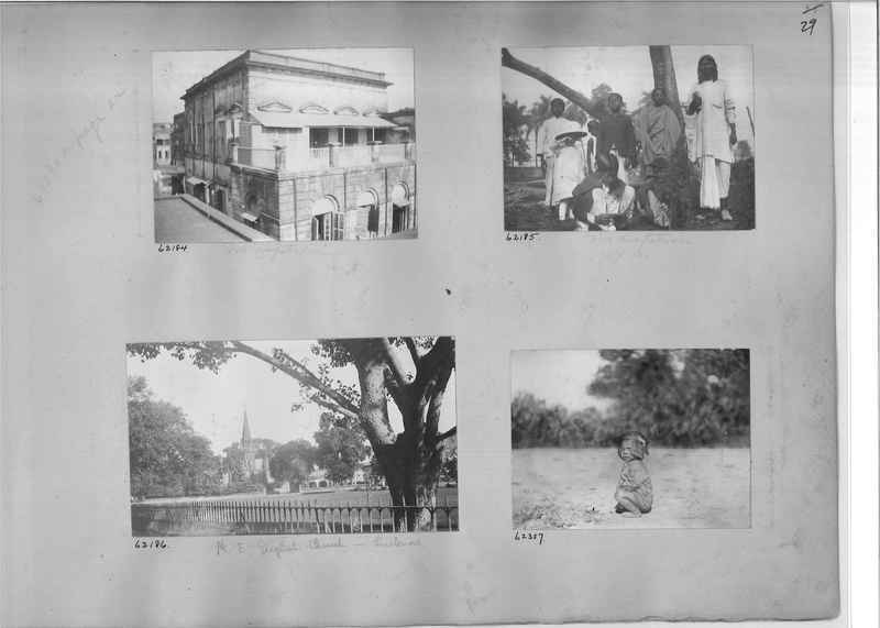 Mission Photograph Album - India #08 Page 0029