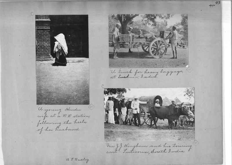 Mission Photograph Album - India - O.P. #01 Page 0043