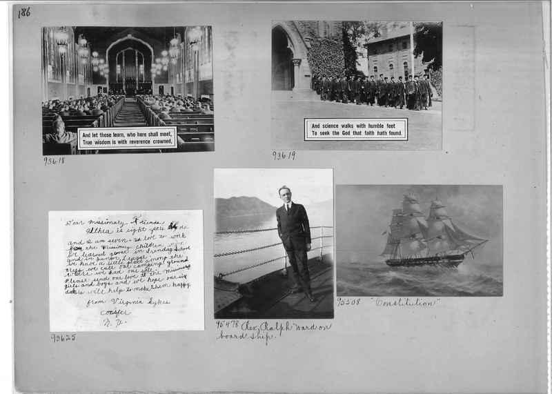 Mission Photograph Album - Miscellaneous #02 Page 0186