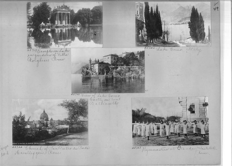 Mission Photograph Album - Europe #01 Page 0049
