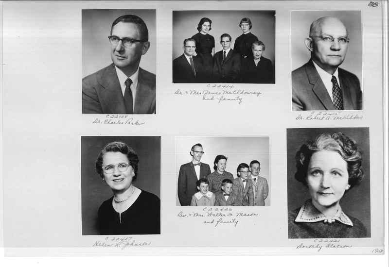 Mission Photograph Album - Portraits #10 Page 0135