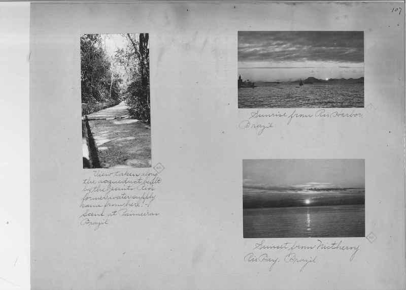 Mission Photograph Album - South America O.P. #1 page 0107