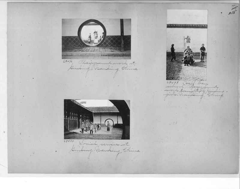 Mission Photograph Album - China #9 page 0215