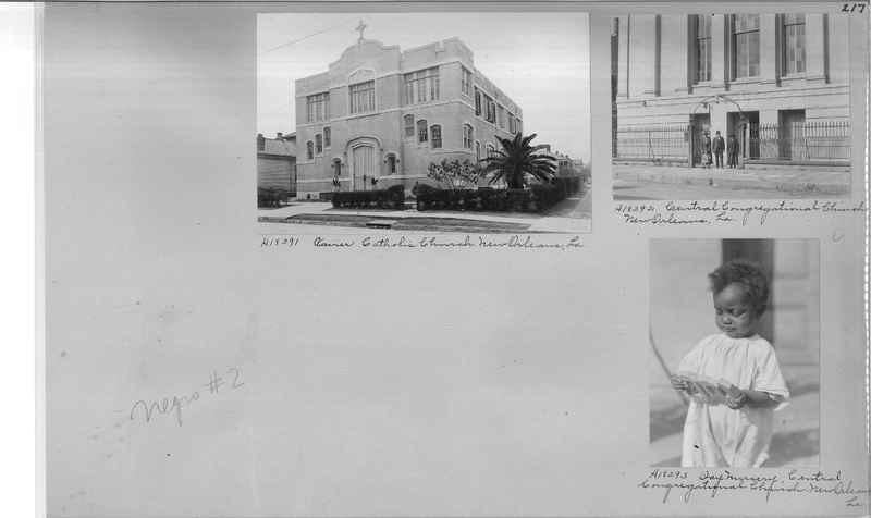 Mission Photograph Album - Negro #2 page 0217