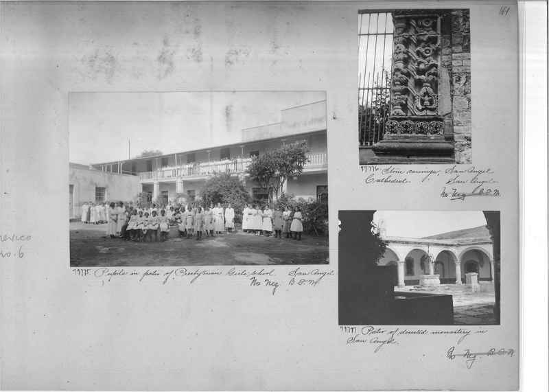 Mission Photograph Album - Mexico #06 page 0161