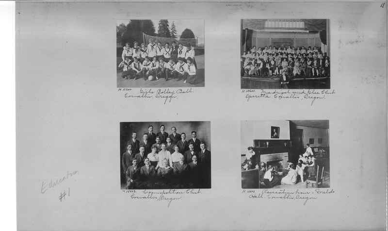 Mission Photograph Album - Education #1 page 0011