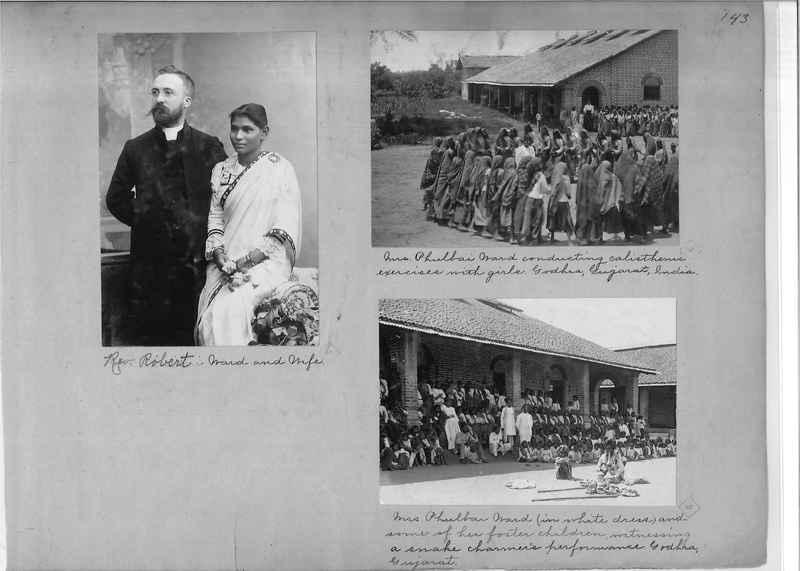 Mission Photograph Album - India - O.P. #01 Page 0143