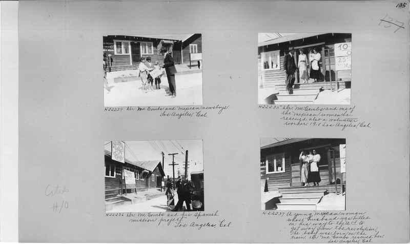 Mission Photograph Album - Cities #10 page 0135
