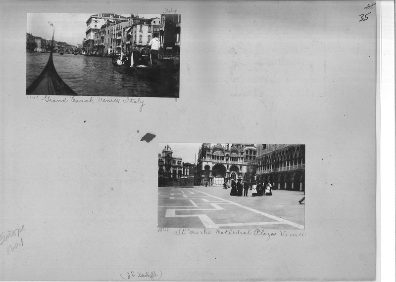 Mission Photograph Album - Europe #01 Page 0035