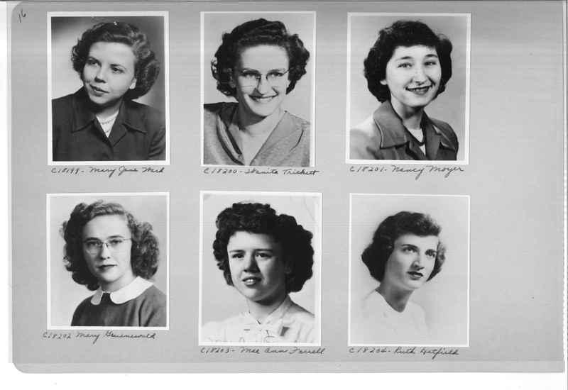 Mission Photograph Album - Portraits #08 Page 0016