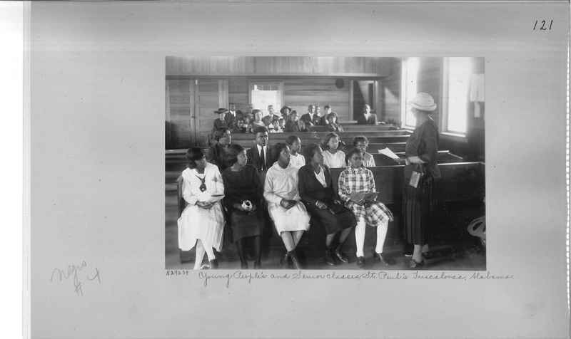 Mission Photograph Album - Negro #4 page 0121