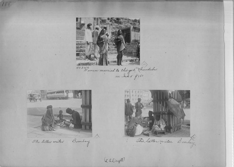 Mission Photograph Album - India - O.P. #02 Page 0188