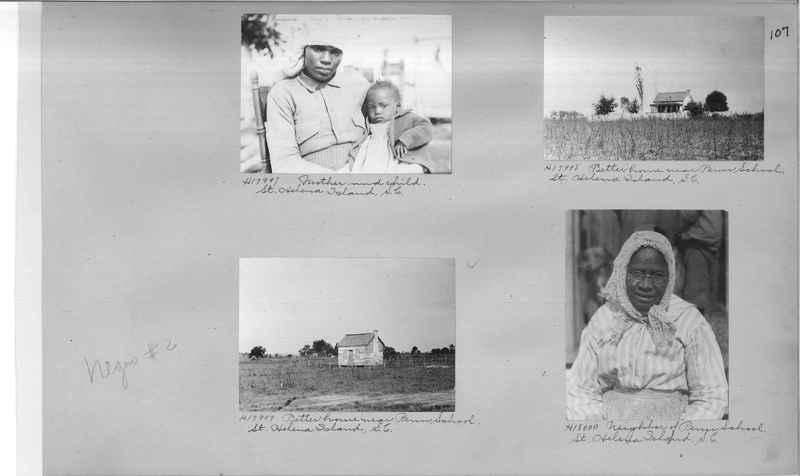 Mission Photograph Album - Negro #2 page 0107