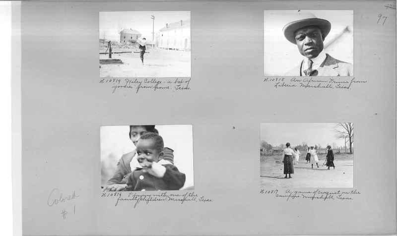 Mission Photograph Album - Negro #1 page 0097