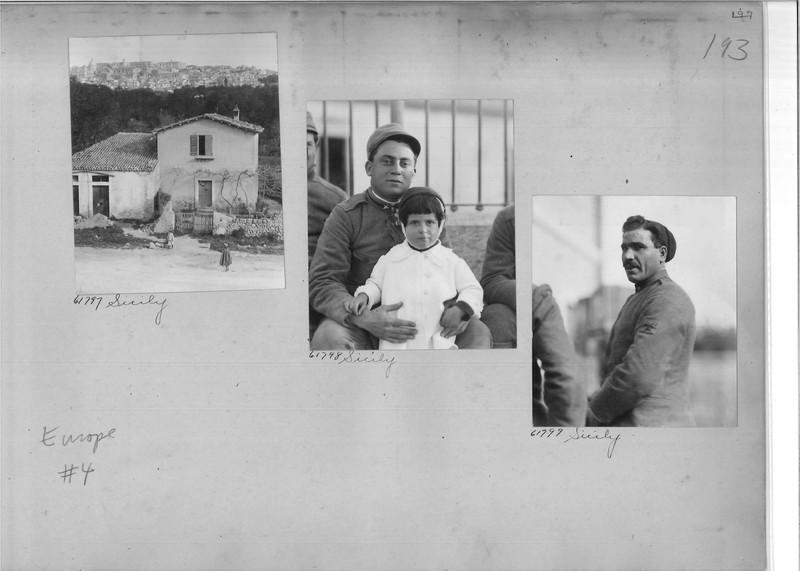Mission Photograph Album - Europe #04 Page 0197