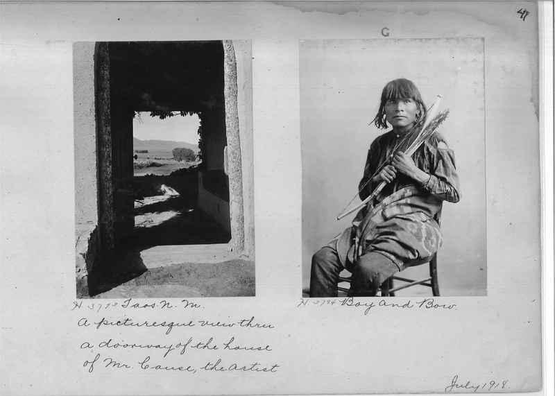 Mission Photograph Albums - Indians #1 page 0041